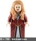 LEGO Minifigure - Pirates of the Caribbean - ELIZABETH SWANN TURNER (Swann Lego Elizabeth)