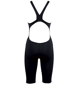 Arena Women's Powerskin St Fbsl Race Powerskin St Full Body Short Leg Suit - Black (Competition Arena Suit)