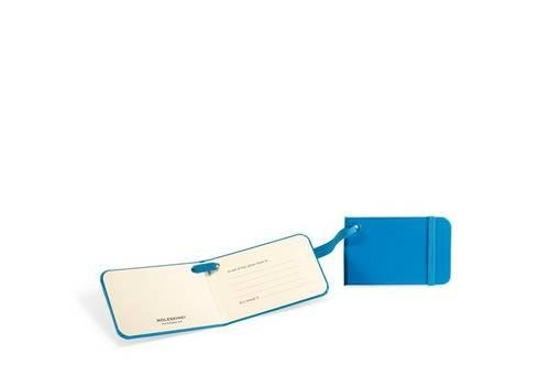 Moleskine 3.75x2.25 Luggage Tag, Sky Blue F11-8860