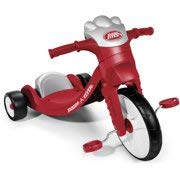 Radio Flyer My First Big Flyer With Lights & Sounds Kids' Tricycle 3 AAA Tatteries ()