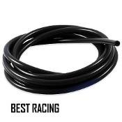 "Black Id:5/16"" (8mm) Silicone Vacuum Hose Tube Pipe ---10 Feet"