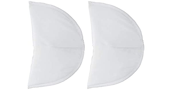 Dritz 53088-9 Shoulder Pads Covered Set-In 1-Inch White