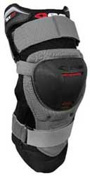 (EVS Adult MX ATV Black SX01 Knee Brace L)