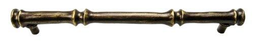 - Carpe Diem Hardware 2392-3 Coastal Living-II Bamboo Pull, 12-Inch, Antique Brass
