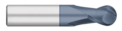 Square End Uncoated Regular Length 4 Flute 11.0 mm Size 30 degree Helix 75 mm Overall Length 12 mm Shank Diameter 25 mm Cutting Length Titan TC11873 Solid Carbide End Mill