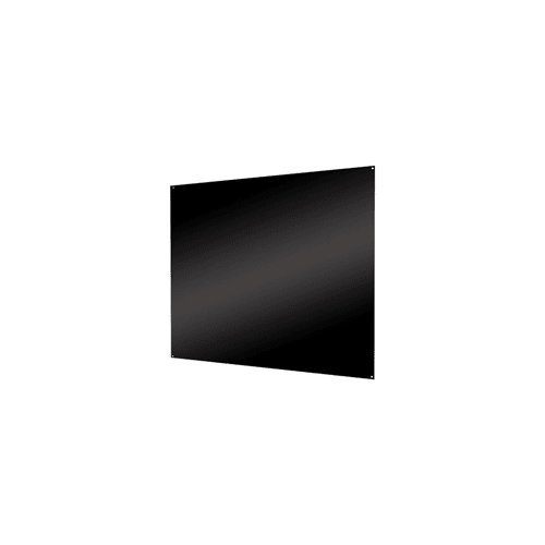 Air King SP2430B Range Hood Back Splash, 30-Inch by 24-Inch, Black Finish Back Black Finish