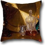 Oil Painting Bernard Hall - After Dinner Throw Pillow Covers 20 X 20 Inches / 50 By 50 Cm For Saloon,bench,family,home Office,outdoor,adults With Double Sides