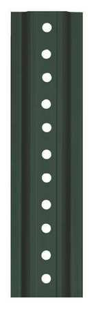 Tapco Post - U-Channel - Light-Duty - 6'L - Green Powder Coat