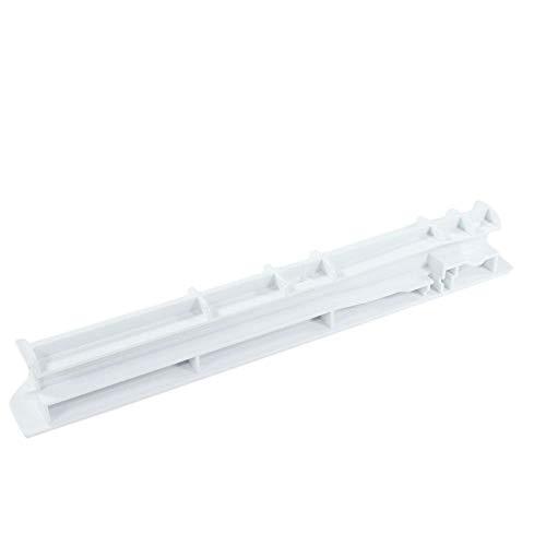 Whirlpool W10326469 Refrigerator Crisper Drawer Slide Rail Genuine Original Equipment Manufacturer (OEM) Part