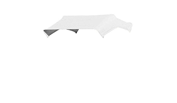 """3-Bow Tractor Canopy with Frame Fender Mount 40/"""" Blue"""