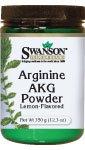 Arginine AKG poudre saveur de citron 350 g (12,3 oz) Pwdr