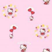 Pink 51025 14 Hello Kitty Flowers Wallpaper Amazon Co Uk