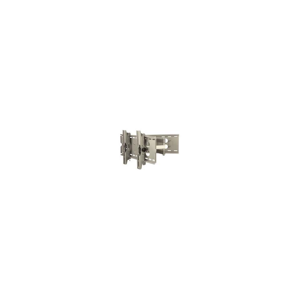 MountsPro Tilt & Swivel Flat Panel TV Wall Mount Full Motion Single Arm Articulating