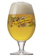 2017 New Belgium Brewery Artful Globe Glass