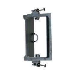 Arlington LVS1 1-Gang Low Voltage Screw-On Mounting Bracket, Black, 50-Pack