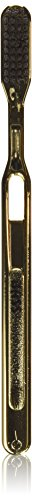 Gold Chrome Nylon Bristle Toothbrush toothbrush by Bass Brushes