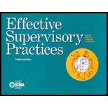 Effective Supervisory Practices (Municipal Management Series)