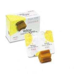 2-Pack Yellow Genuine Colorstix Ink for Phaser 8200