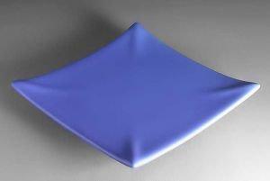 Sottopentola in ceramica per Candele lotus Lilla Azzurro Candela