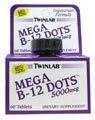 Twinlab B-12 Dots Mega 5000mcgs