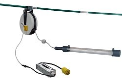 LED Drop Light/Task Light on 30' Cord Reel - 14 Watts - 3' Tube - 120-277V Stepped Down to 24V(-L5-1