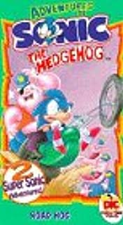amazon com the adventures of sonic the hedgehog sonic s song vhs