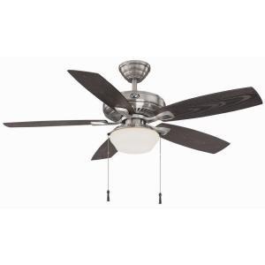 Hampton Bay Nickel Ceiling Fan - Gazebo Ii 52 In. Indoor/outdoo 18.9