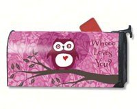 Mailwraps Who Loves You  Mailbox Cover  02022