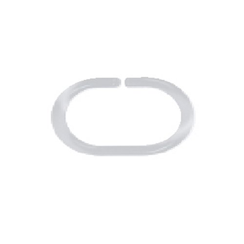 Spirella 10.40076 - Anello in plastica per tenda doccia