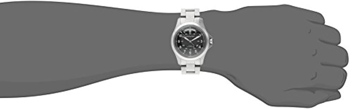 Hamilton Men s H64455133 Khaki King II Black Dial Watch