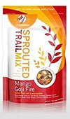 Living Intentions, Organic Sprouted Trail Mix; Mango Goji, Pack of 15, Size - LB, Quantity - 1 Case