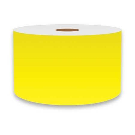 Label Tape, Yellow, 3in W, For Mfr No. VnM4