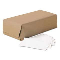(* SCOTT 1/8-Fold Dinner Napkins, 2-Ply, 17w x 14 5/8d, White, 3000/Carton)