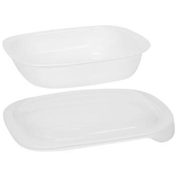 CorningWare SimplyLite / Corelle Bake, Serve, Store 2-Quart lightweight bakeware with Plastic Lid