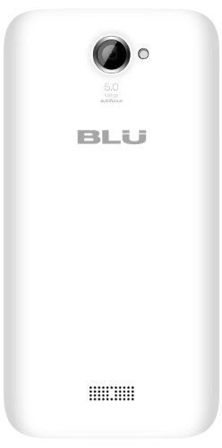 BLU Advance 4.5 Unlocked Dual SIM Phone (White)