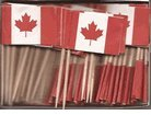 Box of 100 CA Canada Toothpick Flags Dinner Flags Food Flags Flag Pick