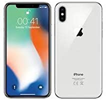 iPhone X 256 gb Plata Sellado y Liberado Entrega Inmediata (Reacondicionado Certificado)