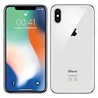 iPhone X 256 gb Plata Sellado y Liberado Entrega Inmediata (Reacondicionado Certificado)