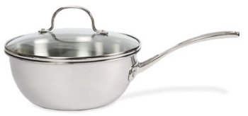Calphalon Stainless Triply Chefs Pan 3 Qt.