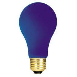 (Bulbrite 106340 40W Ceramic Blue A19 Bulb, 1-Pack)