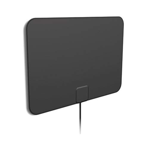 [2019 Latest] HD Digital Amplified TV Antenna - Support 4K 1080P & All Older TV's Indoor Powerful HDTV Amplifier Signal Booster - Coax Cable Included (Best Tv Antenna Signal Booster)