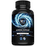 Adrenal Support & Cortisol Manager, 1300 mg, Best Adrenal Fatigue Supplements with Adaptogenic