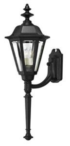 (Hinkley 1440BK Traditional Four Light Wall Mount from Manor House collection in Blackfinish,)