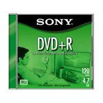 Sony DVD plus R Jewel (10 Pack) (Discontinued by Manufacturer)