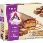 Atkins Endulge Bar Chocolate Caramel Mousse, 6 Ounce - 5 Pack Chocolate Mousse Bar