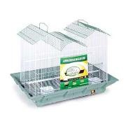 Prevue Pet Products BPV853 2-Pack Clean Life Flight Plastic Cockatiel Cage, 27-Inch, Colors Vary