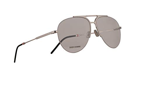 Christian Dior Homme Dior0231 Eyeglasses 60-14-150 Palladium w/Demo Clear Lens 010 0231