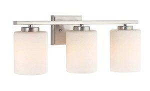 - Dolan Designs 3883-09 3Lt Satin Nickel Chloe 3 Light Bath bar,
