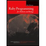 Ruby Programming for Medicine & Biology (08) by Berman, Jules J [Paperback (2007)]