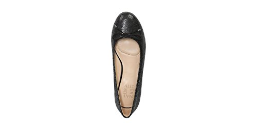 Naturalizer Kvinna Nåd Balett Mattsvart Skimrande Småstenar Läder